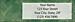 Wall Street Return Address Label