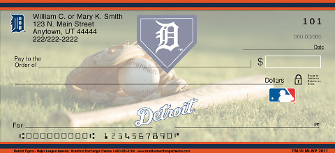 Detroit Tigers - Personal Checks