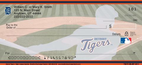Detroit Tigers - Personal Checks