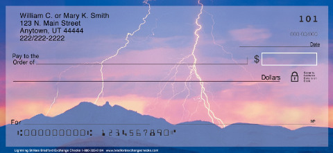 Lightning Strikes Personal Checks