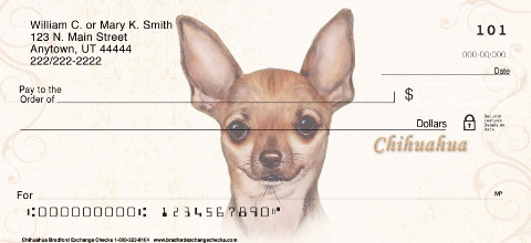 Chihuahua Personal Checks