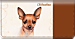Chihuahua Checkbook Cover