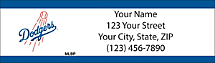Los Angeles Dodgers - Return Address Label
