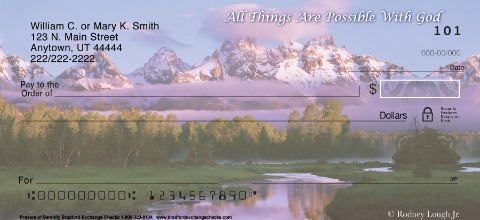 Prayers of Serenity Personal Checks