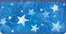 Shining Stars Checkbook Cover
