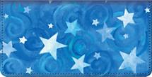 Shining Stars Checkbook Cover