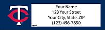 Minnesota Twins(R) Address Labels