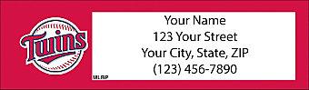 Minnesota Twins™ MLB® Return Address Label