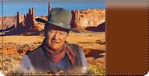John Wayne: An American Legend Checkbook Cover