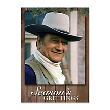 Send Holiday Greetings as Cool as The Duke, an American Legend