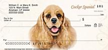 Cocker Spaniel Personal Checks
