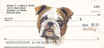 Bulldog Dog Personal Checks