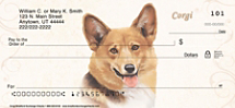 Corgi Personal Checks