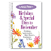 Large Print Birthdays & Special Days to Remember Organizer
