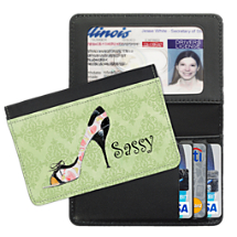 Stepping Out Debit and Credit Card Holder