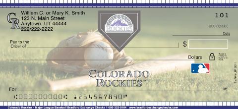 Colorado Rockies - Personal Checks