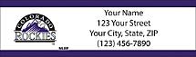 Colorado Rockies - Return Address Label