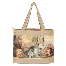 Greg Olsen Christian Art Tote Bag: Guided By Love