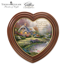 Thomas Kinkade Framed Cottage Art Canvas Print