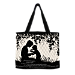 Mother And Child Quilted Tote With FREE Cosmetic Case