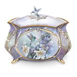Lena Liu Hummingbirds Porcelain Music Box