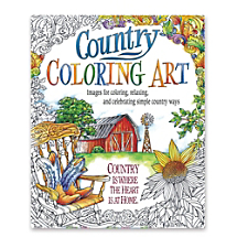 Images for Coloring, Relaxing and Celebrating Simple Country Ways