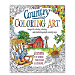 Country Coloring Book for Adults