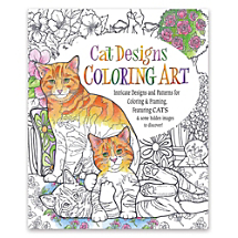 Intricate Designs and Patterns for Coloring and Framing  Cats and Quotes!