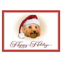 Oh, By Golly! Look Who's Jolly! Put Some Puppy Love in Your Season's Greetings