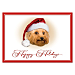 Faithful Friends - Yorkie Personalized Holiday Cards
