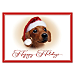 Faithful Friends - Dachshund Personalized Holiday Cards
