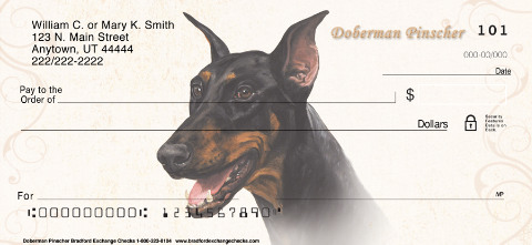 Doberman Personal Checks