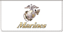 U.S. Marines Checkbook Cover