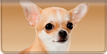 Faithful Friends - Chihuahua Checkbook Cover