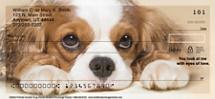 Faithful Friends - Cavalier King Charles Personal Checks