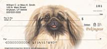 Pekingese Personal Checks