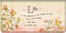 Live, Laugh, Love, Learn Checkbook Cover