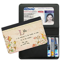 Live, Laugh, Love, Learn Small Card Wallet