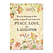 Live, Laugh, Love, Learn Personalized Holiday Cards