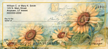 Sunflowers Personal Checks