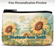 Sunflowers Coin Purse