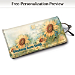 Sunflowers Eyeglass Case