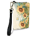Sunflowers Small Wristlet Purse