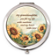 Sunflowers Granddaughter Keepsake Compact