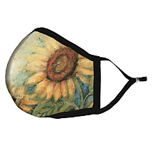 Carry a Bit of Summer with this Sunflowers Fabric Face Mask