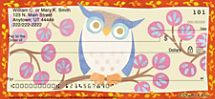Challis & Roos Awesome Owls Personal Checks