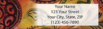Tribal Soul Return Address Label
