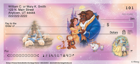 Disney Princess Stories Personal Checks