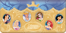 Disney Princess Stories Checkbook Cover