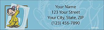 The Seven Dwarfs Return Address Label